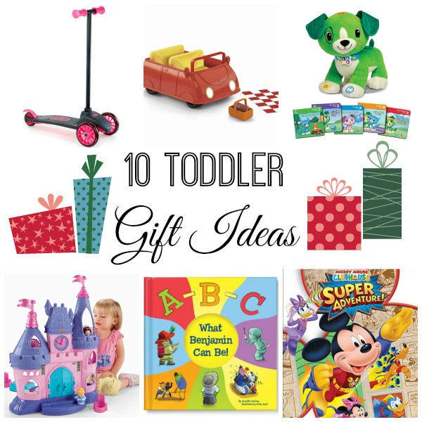 toddler gift collage