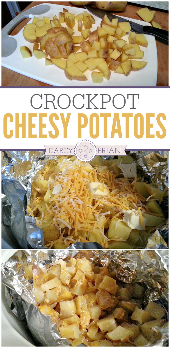 Make a scrumptious potato side dish without heating up the house with the oven. This Crock Pot Cheesy Potatoes recipe is easy to prepare!