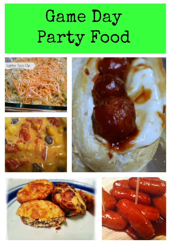 Big Game Party Food Recipes