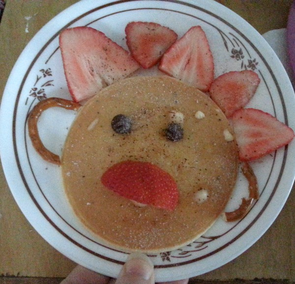 Happy Pancake Face