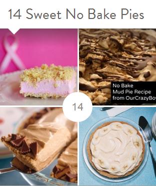 no bake pie collection
