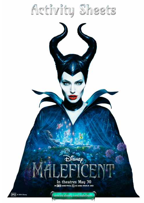 maleficent activity cover