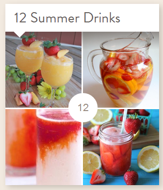 Foodie Summer Drink Collection