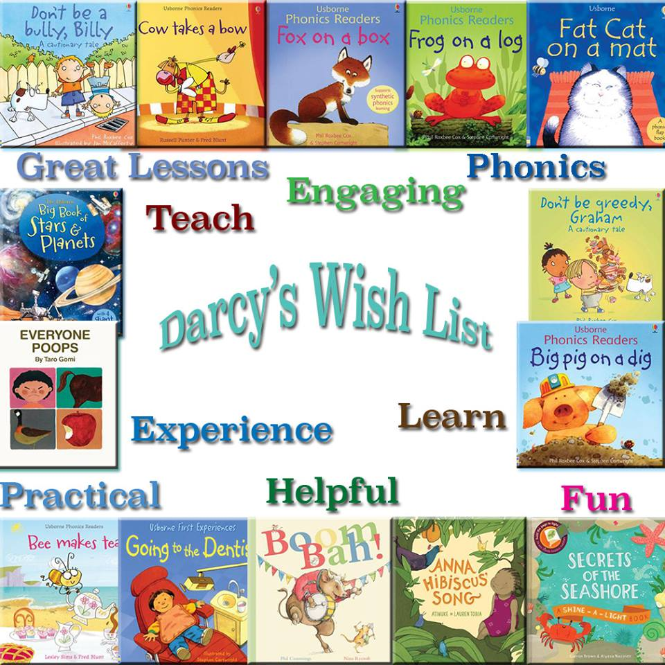 usborne book wishlist