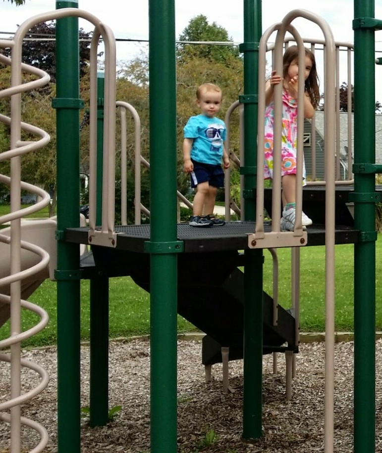 xander and rissa playground summer2014