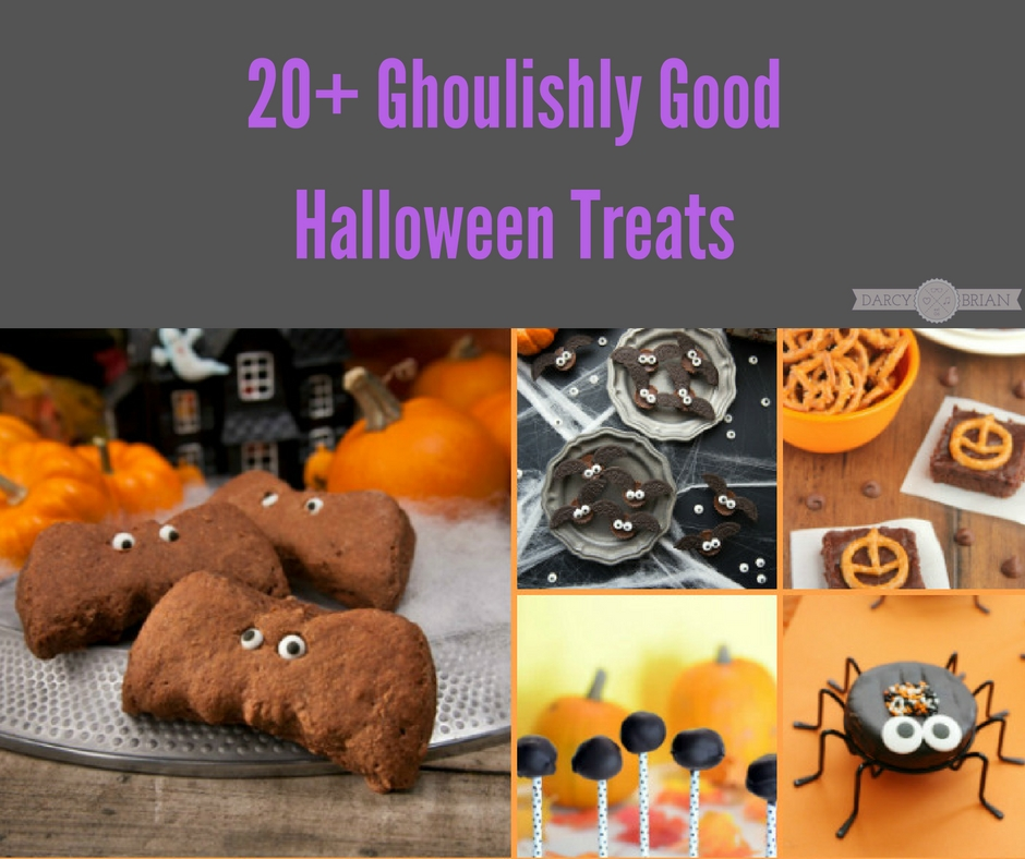 tricks and treats 20 ghoulishly good halloween party food ideas - Halloween Scary Desserts
