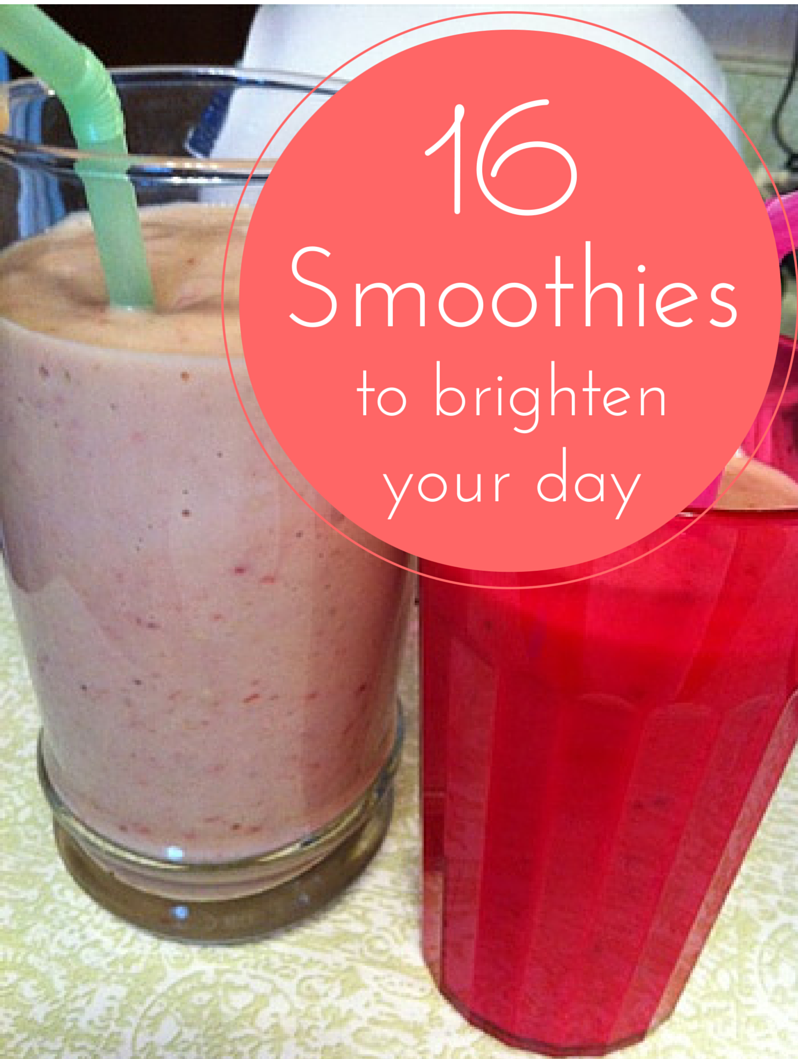 16 smoothies