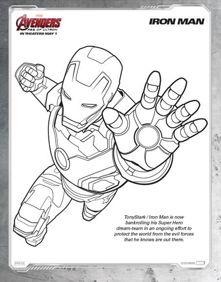 Crayons Assemble for These Avengers Coloring Pages! #Avengers ...