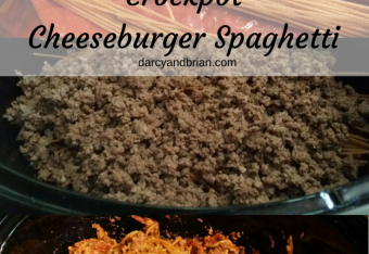 Crockpot Cheeseburger Spaghetti Recipe