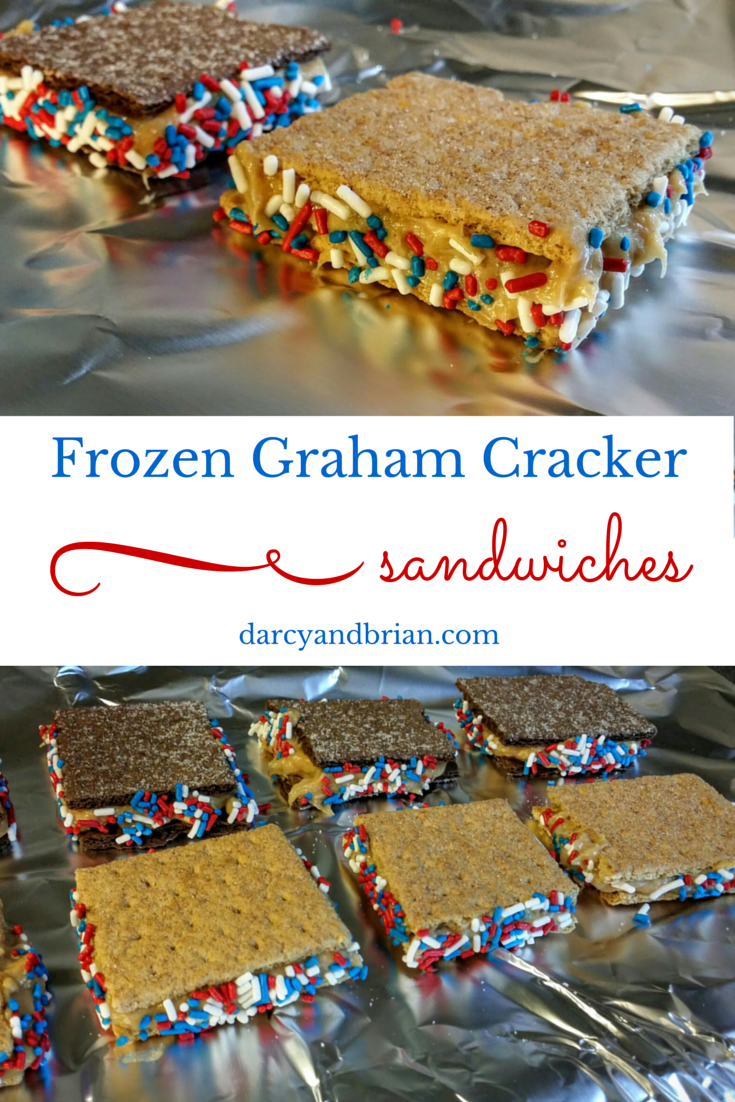 Frozen Honey Maid Graham Cracker Sandwiches