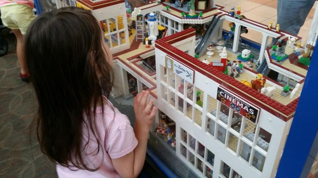 LEGO display at Mayfair Mall