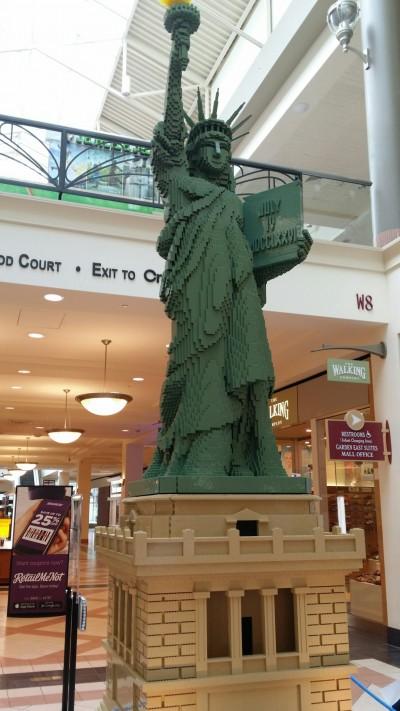 Statue of Liberty LEGO replica