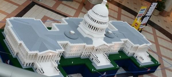US Capitol LEGO replica