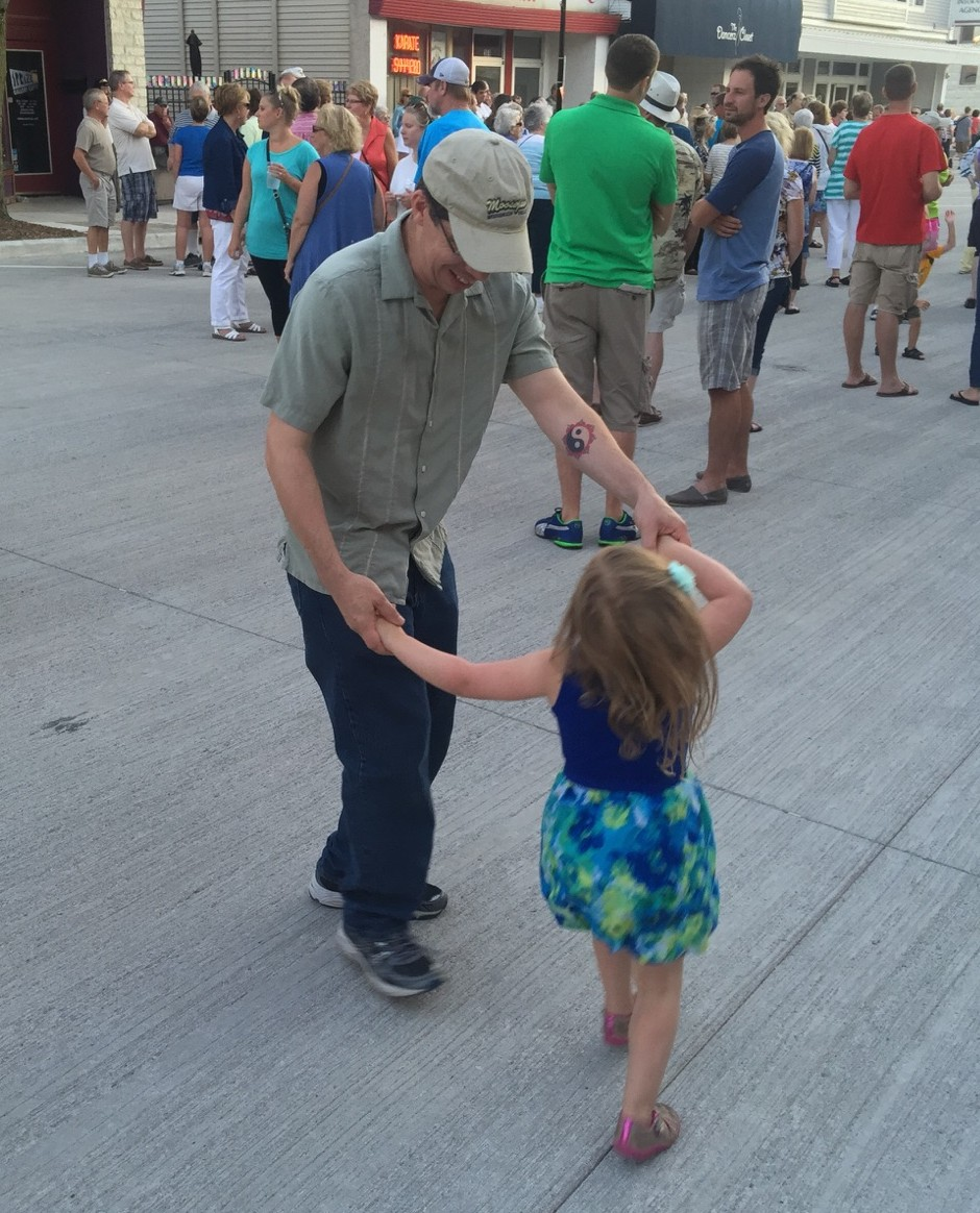 Dancing at Friday Night Live in Waukesha