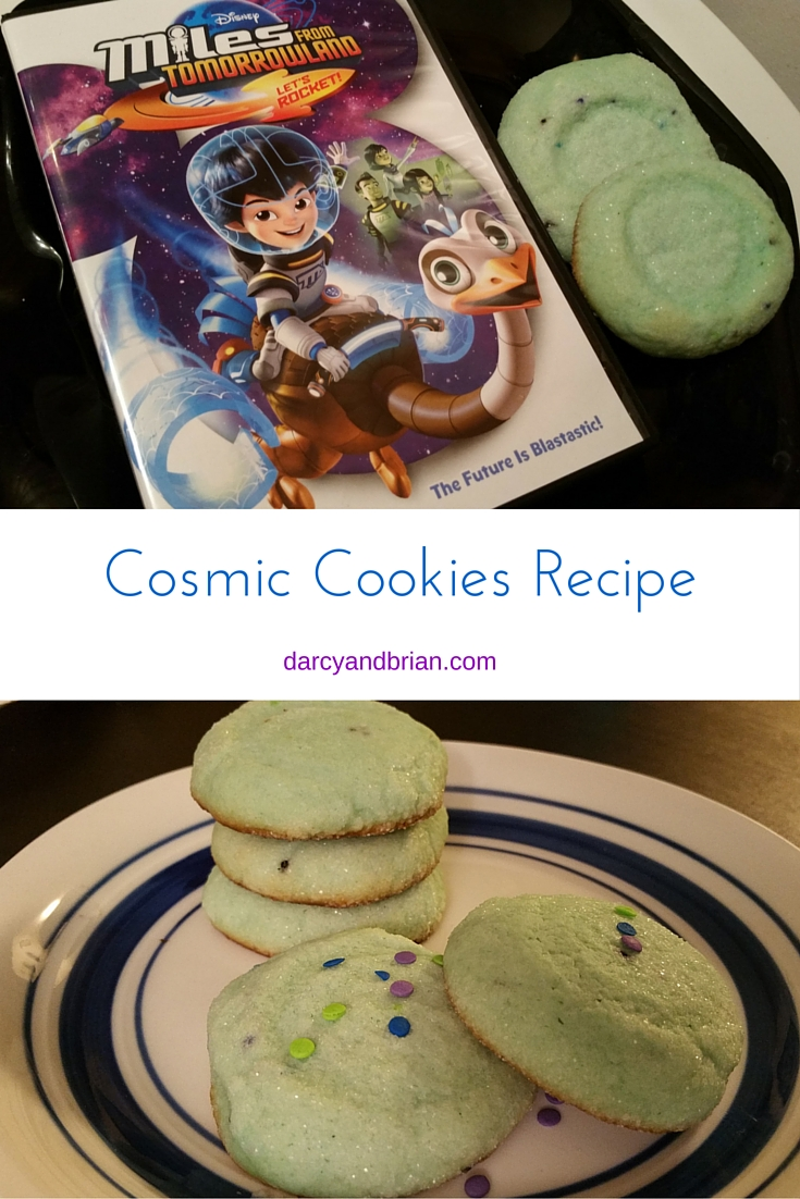 Cosmic Cookies inspired by Miles From Tomorrowland