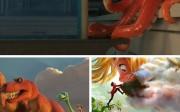 Pixar and Walt Disney Animation Studios Collage