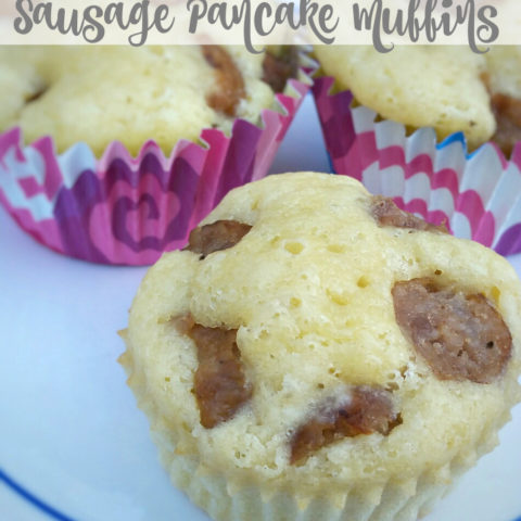 For the busiest mornings, make a grab and go breakfast like this quick sausage pancake muffins recipe.