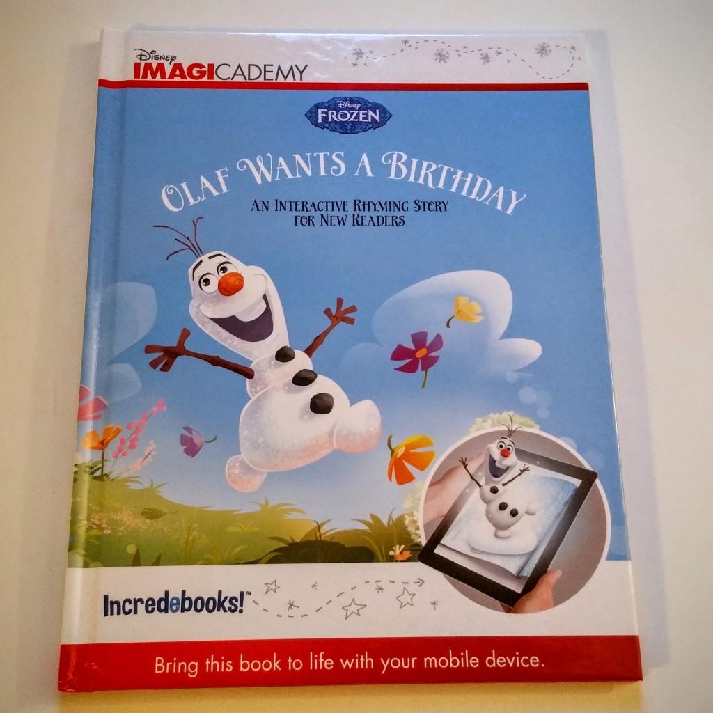 Olaf Wants a Birthday Incredebook