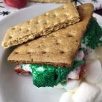 Assembled Christmas S'more