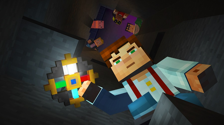 Minecraft Story Mode Character with Amulet