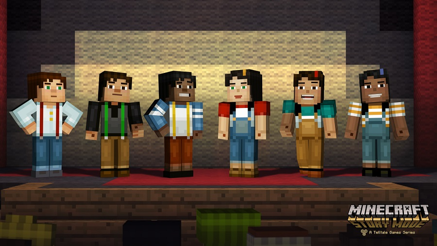 Minecraft Story Mode Character Selection