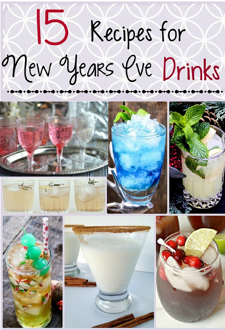 15 New Year's Eve Party Drinks