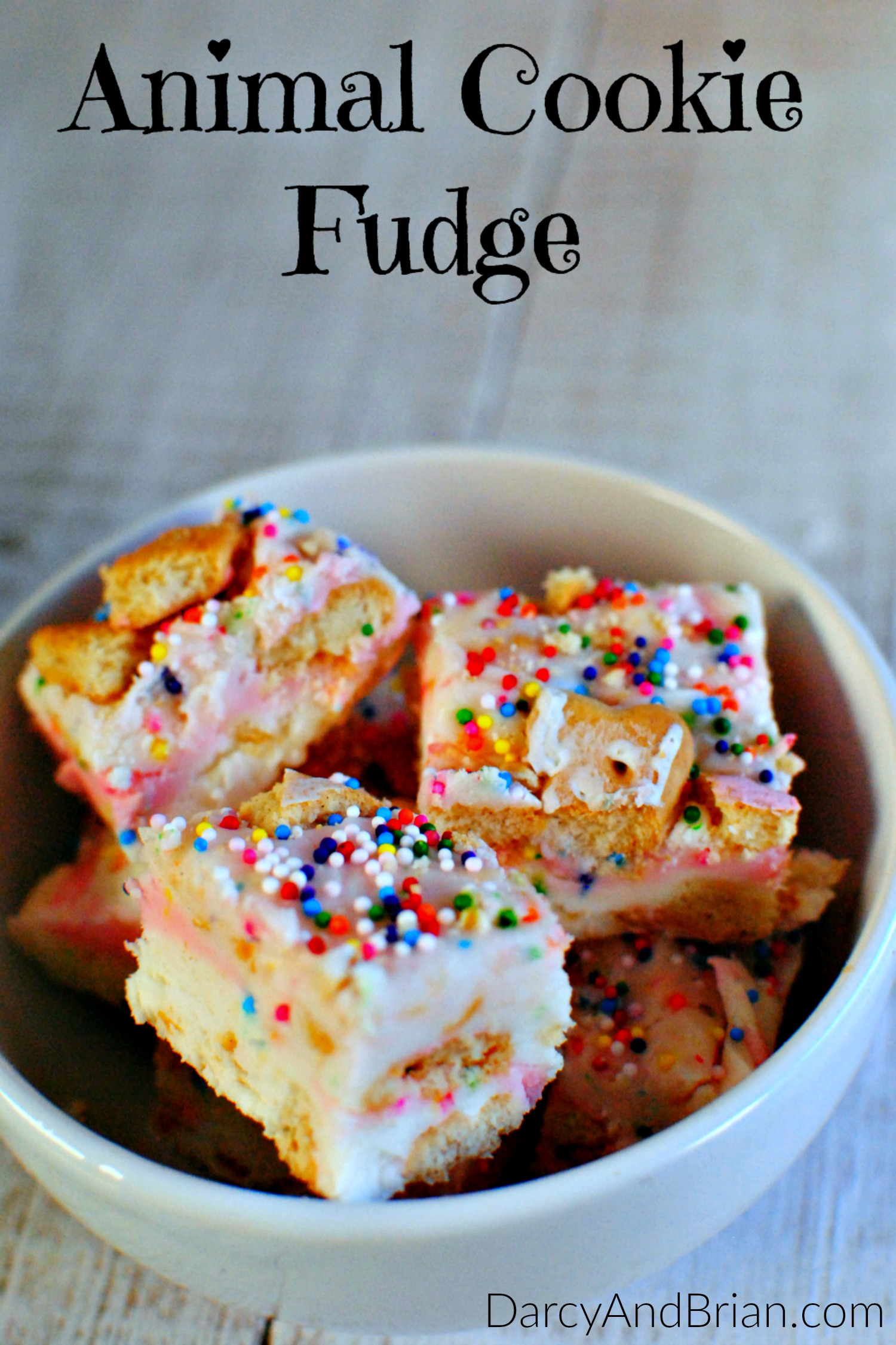 Make this Animal Cookie Fantasy Fudge Recipe for a fun and tasty treat.