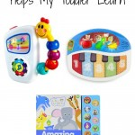 Check out how I use Baby Einstein Animals toys, books and DVD's to help my toddler learn!