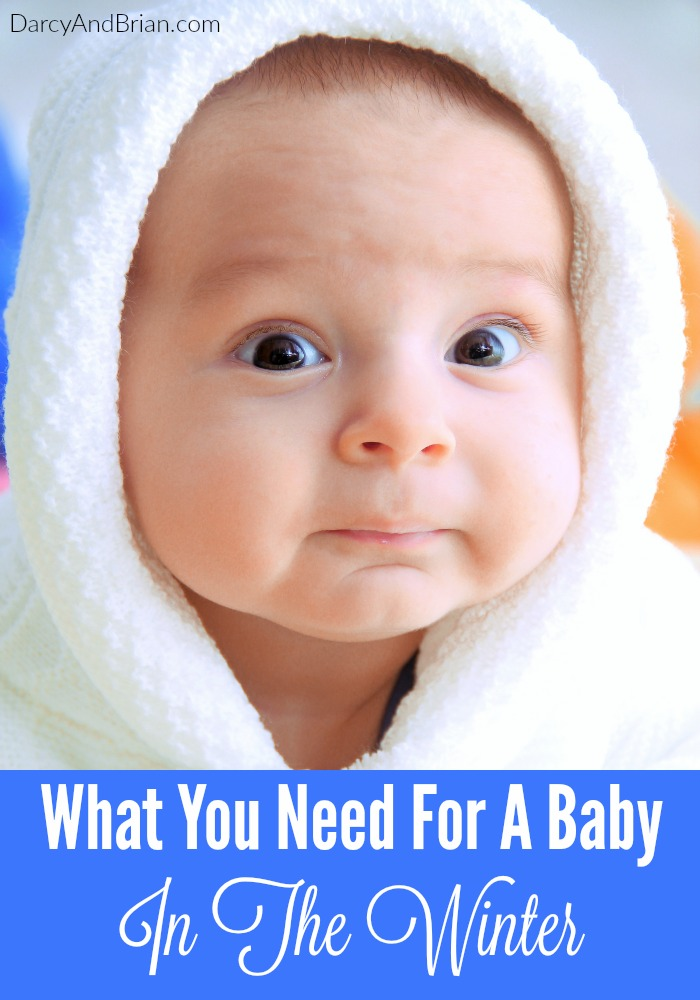 Check out this list of what you need for a baby in the winter!