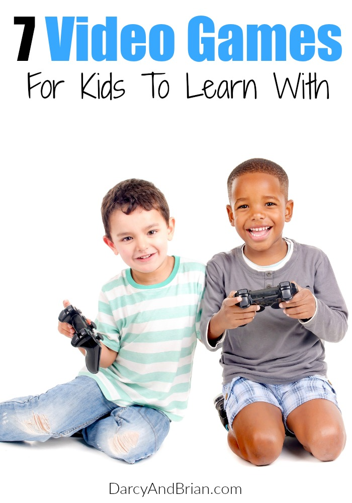 We love these 7 Video Games For Kids! They are great educational games and perfect for fun time or homeschooling!