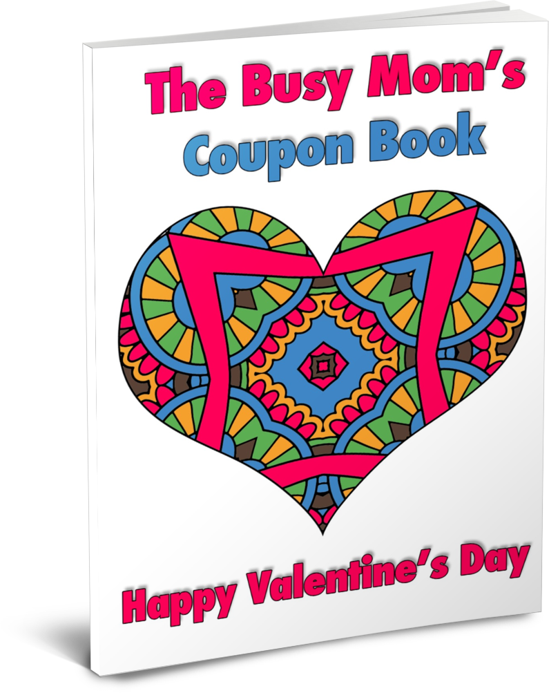 Make sure your partner needs to take time for herself! Free printable Valentines Day coupon book for moms.