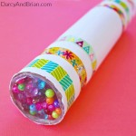 Learn how to make this DIY Kaleidoscope Kids Activity.