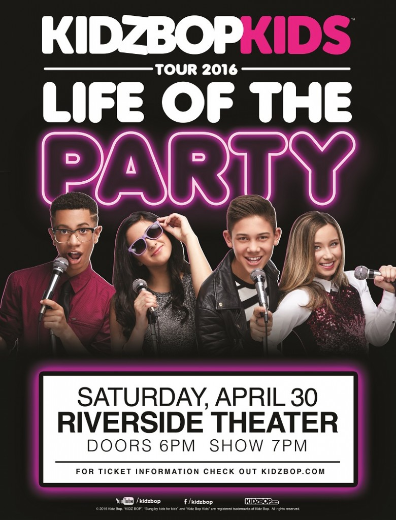 KIDZ BOP Life of the Party tour in Milwaukee Wisconsin