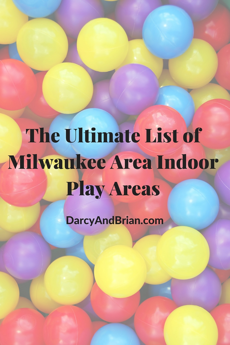 Find an outlet for your child's energy on cold or rainy days with this list of indoor play places in the Milwaukee area. From indoor playgrounds to bounce places and more!