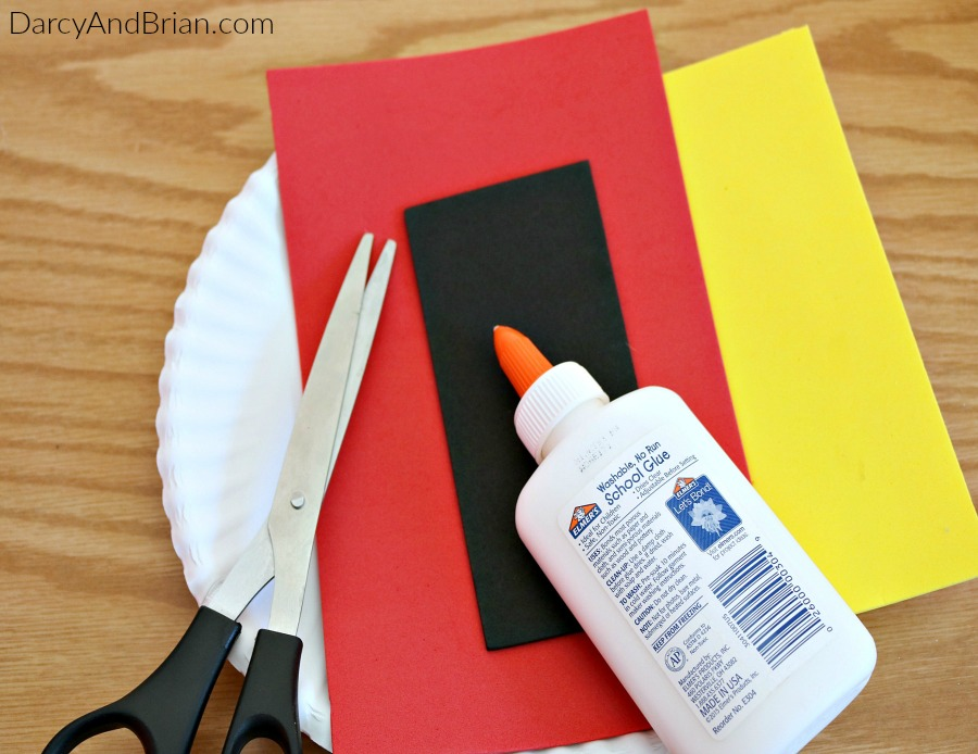 Gather up your craft supplies to make this fun craft project for kids.