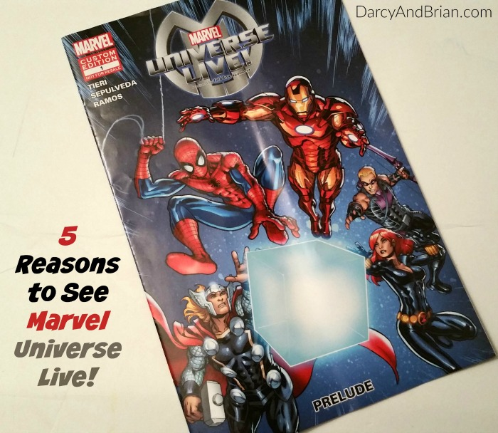 Wondering if you should take your family to see the Marvel Universe Live arena show? Check out these reasons to go see it if you have the chance!