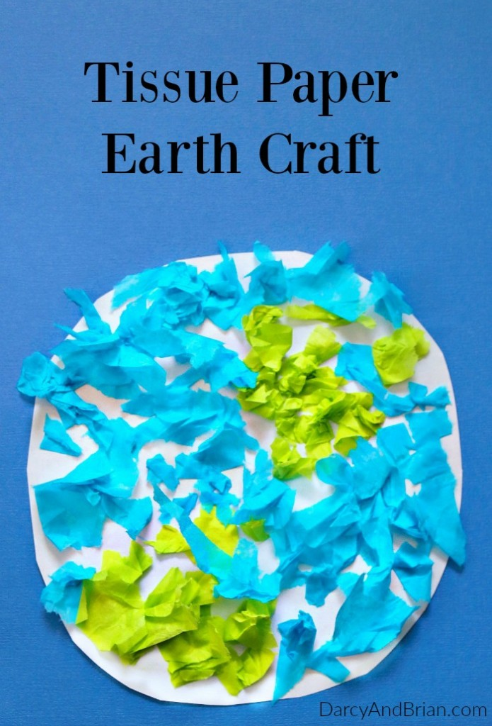 earth for preschoolers easy tissue paper earth day craft for 222