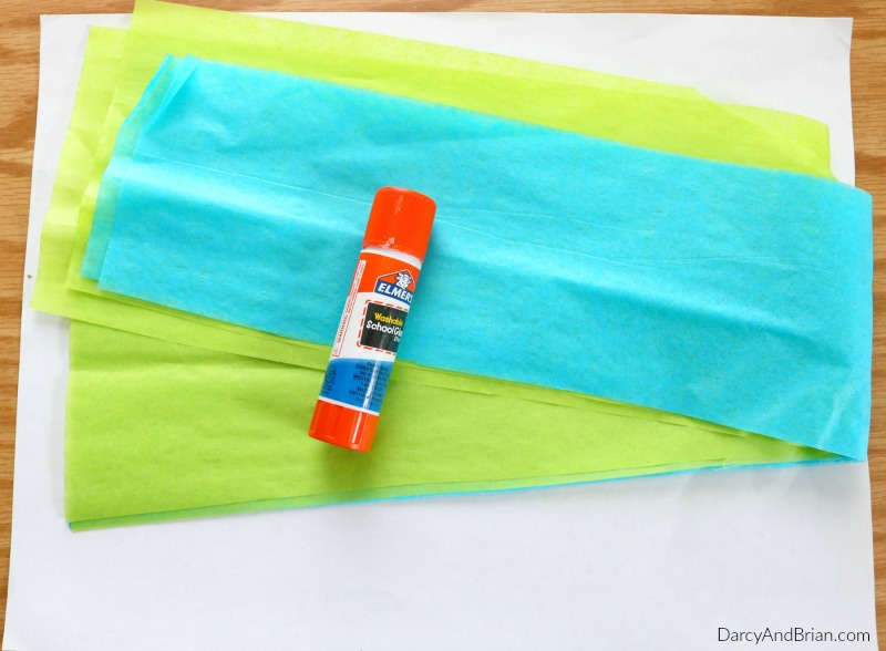 Gather your supplies for this Earth Day craft activity.