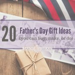Looking for the perfect Father's Day gift? Check out this list of gift ideas! There are presents you can buy, personalized gift ideas, DIY homemade gift ideas, and activities to do together. Find inspiration for a memorable gift for Dad!