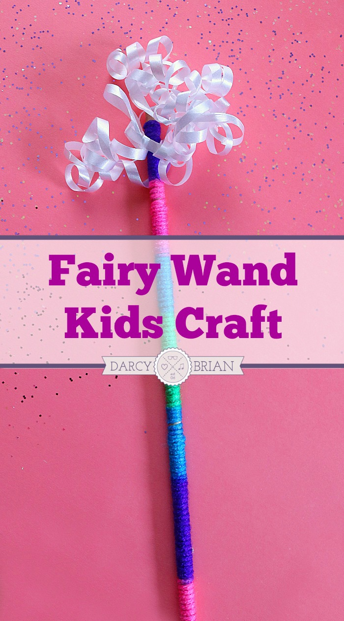 Do your children love the magical world of fairies? Enter their world of pretend play and make this fairy wand kids craft together! You can customize the colors to make it truly one-of-a-kind for your child. This could also be a fun play date activity!