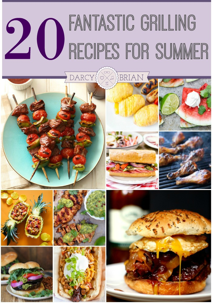 Fire up the grill and cookout all summer long with these tasty summer grilling recipes. Go beyond the usual burgers and hotdogs and delight your guests at the next BBQ when you try something new.