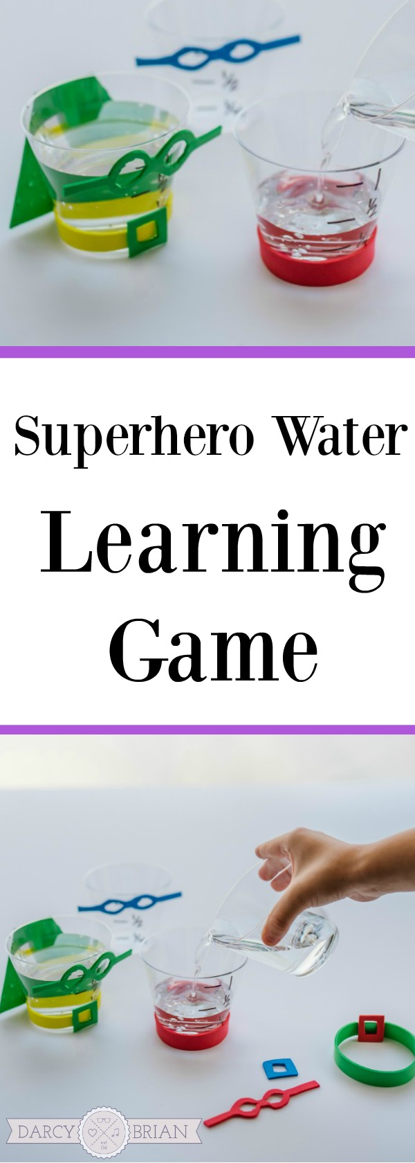Do your kids love pretending to be a superhero? This Superhero Water game is a fun kids activity that will help teach units of measurement as they pour water. It also encourages creativity as they add super powers. This learning game is loads of fun and simple to set up.