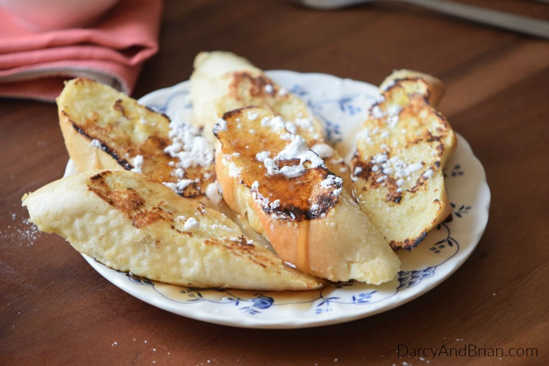Wake up to delicious with this Vanilla French Toast recipe.
