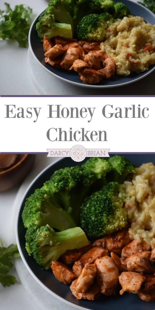 Looking for quick and easy meal ideas? This honey garlic chicken recipe is simple, flavorful, and ready in a little over 30 minutes. Add this easy dinner recipe to your meal plan rotation. It's perfect for busy nights!