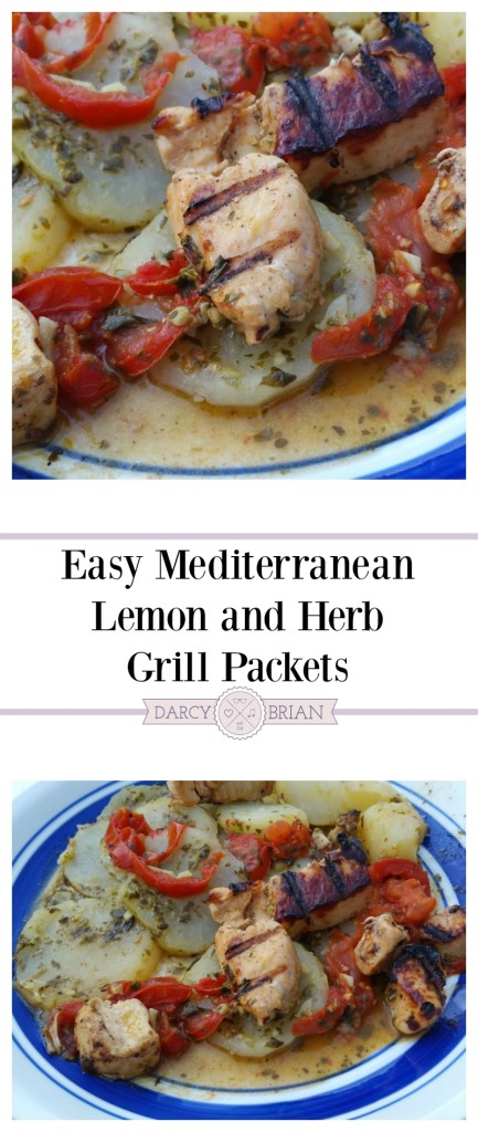 Summer is perfect for grilling and experimenting with flavors. Give your next chicken and potato grill packet an upgrade with this mouthwatering Mediterranean grill packets recipe. It tastes so good, you'll want seconds!