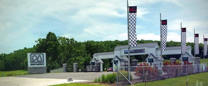 Road America main gate
