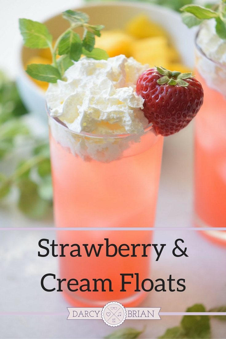 Do you love soda ice cream floats? This Strawberry and Cream Floats recipe is easy to make and tastes great. It's perfect for a family movie night or birthday party.
