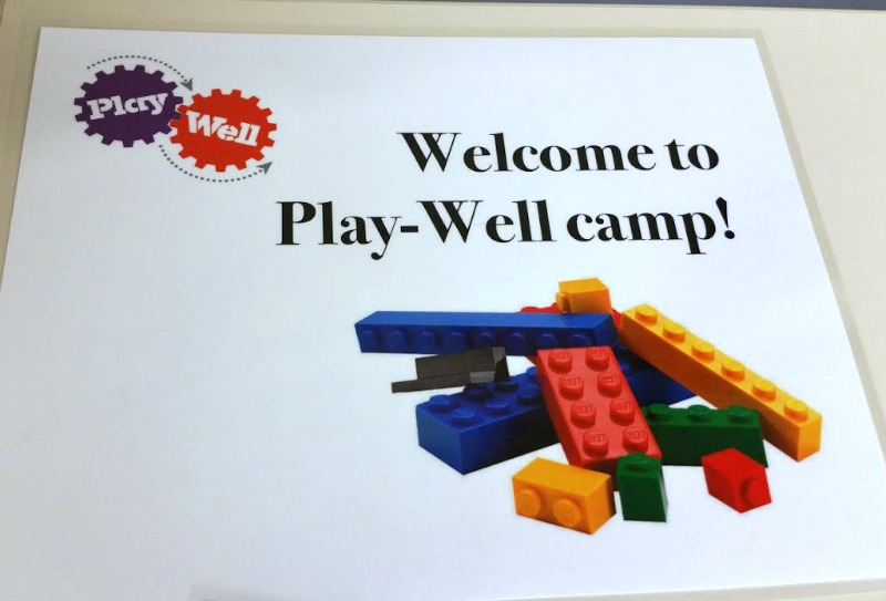 Spark creativity and learning by attending a Play-Well camp.