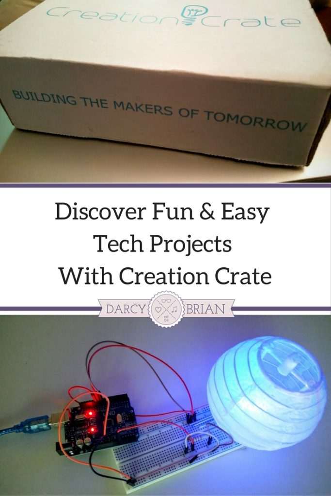 Are you or your kids interested in learning to build with electronics? Check out this review of the Creation Crate subscription box. Perfect gift idea for kids interested in STEM projects and hands-on learning activities.