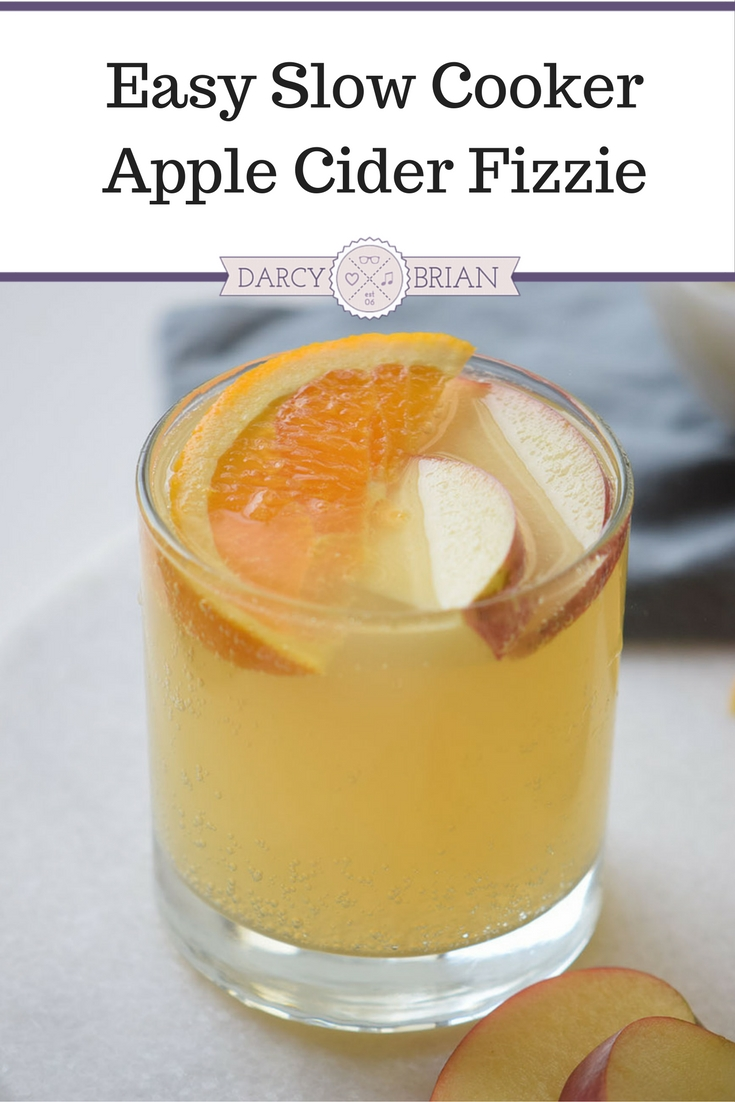 Looking for delicious apple recipes? This Slow Cooker Apple Cider Fizzie recipe is the perfect fall drink. It's easy to make in your Crock Pot for Thanksgiving and Christmas holiday parties.